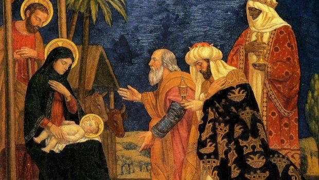 Epiphany 6th January Mass times – 10am and 7.30pm.